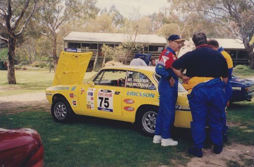 The Avanti crew during a break in the Classic Adelaide.